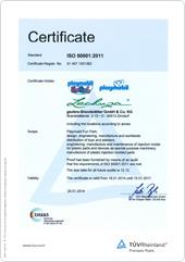 certification política de energia