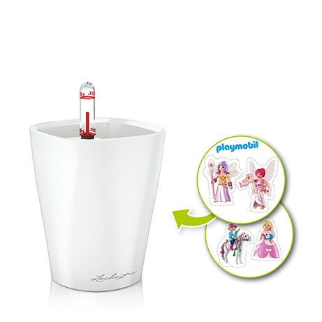 MINI-DELTINI set poney, blanco satinado All-in-One Set